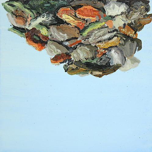 COLIN MUIR DORWARD | UNCERTAIN COMPOST | OIL ON CANVAS | 12 X 12 INCHES | 2014