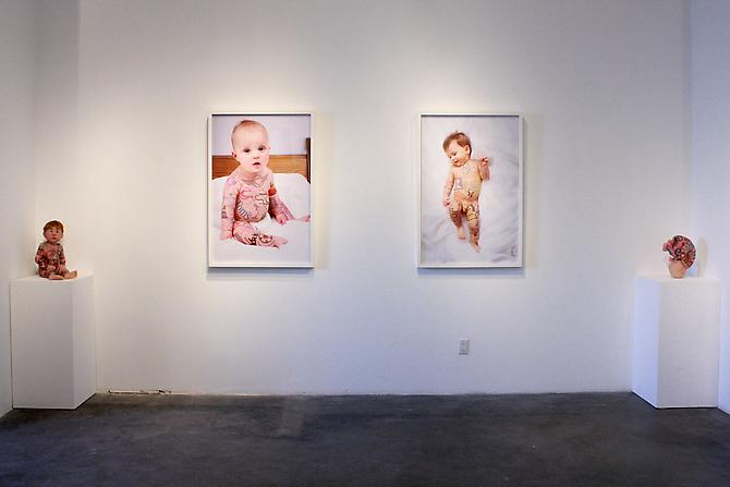 Installation View: SKIN DEEP