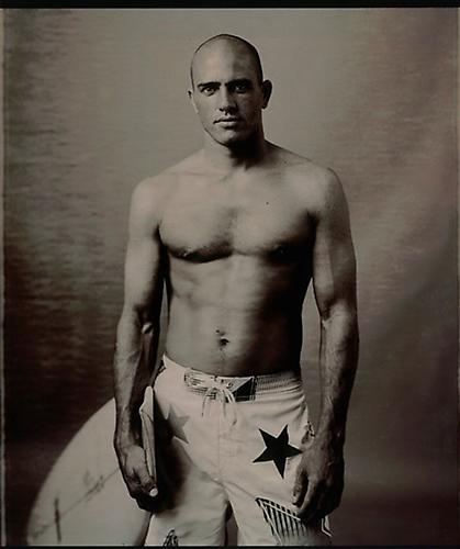 Kelly Slater, New York 2006 Sepia Toned Print