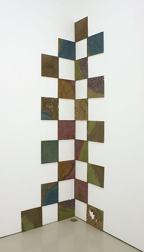 Jedediah Caesar, 2010  | /| /| /| /| /| /| /| /| //| 20 panels, each approx. 10 1/8 x 11 1/8 x 1/2 inches