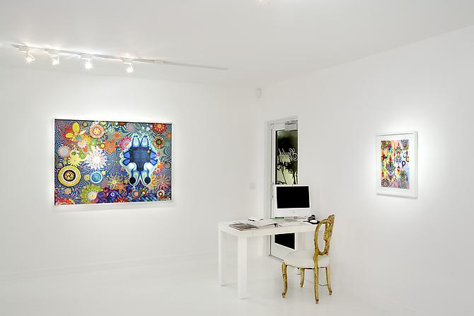 "Installation view ""The Science of Complexity"", 2011 Gavlak Gallery"