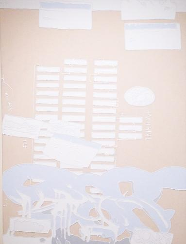 Untitled (UES), 2011 Acrylic on Canvas 32 x 24 inches
