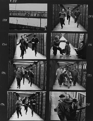 Contact Sheet (Jules Et Jim) 1961 gelatin silver print