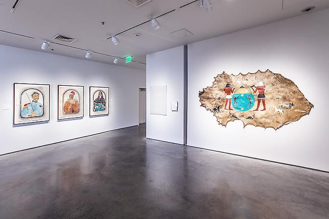 "'And Those Figures Through The Leaves. And That Light Through The Smoke,' Part Two of ""The Americas"", The Nevada Museum of Art, 2013"
