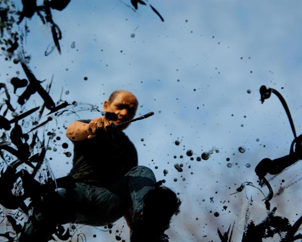 Jackson Pollock , 2006. Digital c-print. 16 x 20 inches. Edition of 10.