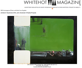 John Andolsek in Whitehot Magazine