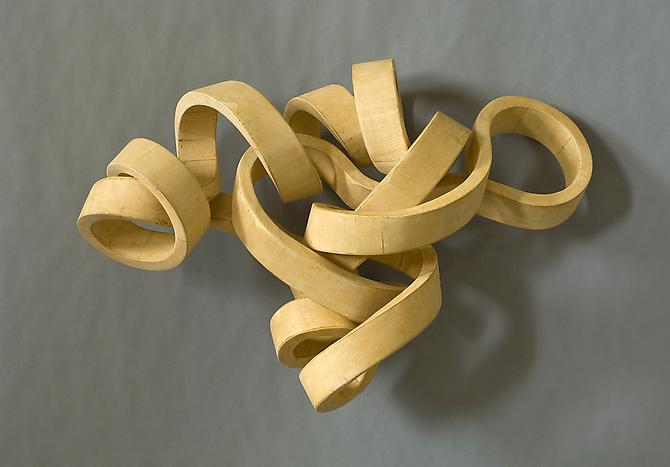 Cubist, 2008-11 Poplar wood 11 x 25 x 15 inches