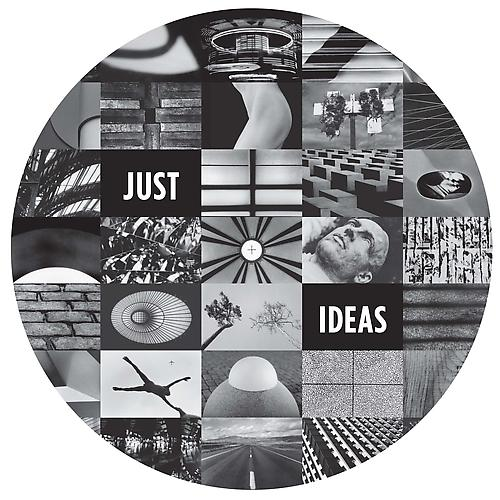 JUST IDEAS, 2011 Archival digital pigment print Edition of 10 Image:  44.5 x 43.25 inches; Framed: 46.5 x 45.25 inches