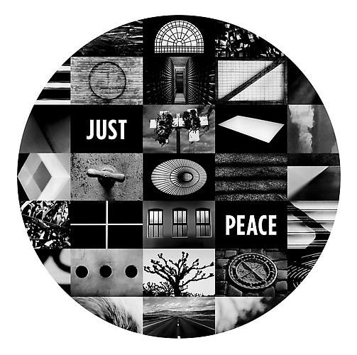 JUST PEACE, 2011 Archival digital pigment print Edition of 10 Image:  44.5 x 43.25 inches; Framed: 46.5 x 45.25 inches