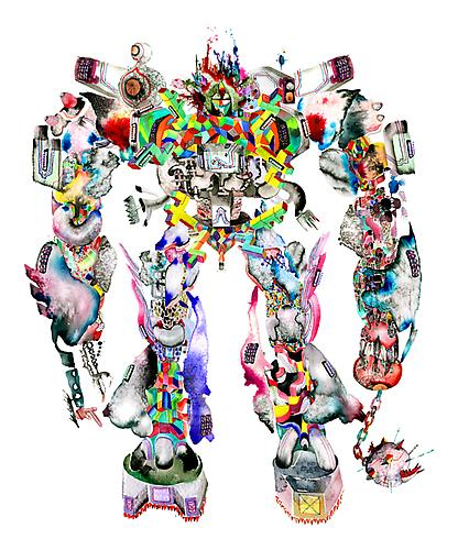 DAVID CHOE K-Town Special Choebot Print Edition of 5