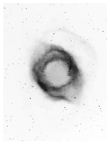 Black Hole, 2011 from 'Half of the Whole' pigment print