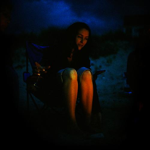 Bonfire, 2011 from 'Know Me For the First Time' pigment print