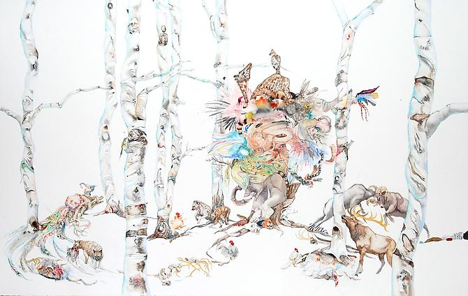 Laura Ball, Panic (2011)