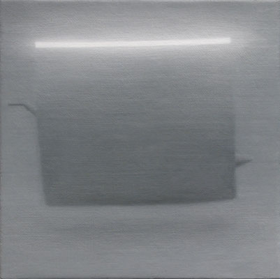 Light Bar , 2006, oil on linen 6 x 6 inches