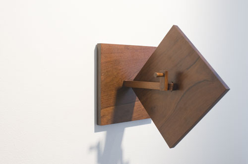 Artur Lescher, 2006, Roda Quadrado , Wood, Edition 10 of 15, 7.9 x 7.9 x 7.9 inches