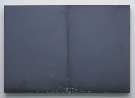 Untitled , 2002, oil on canvas, 32 x 46 inches