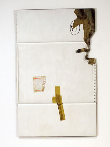 Documents Enclosed , 2011, oil on cardboard, 48 x 31 inches