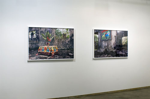 Juan Manuel Echavarria, 2010, Corte de Mampuján, C-Prints, Edition 1 of 3, with 2 APs, Diptych, 33 x 50 inches each panel (34.5 x 51.5 inches each framed)