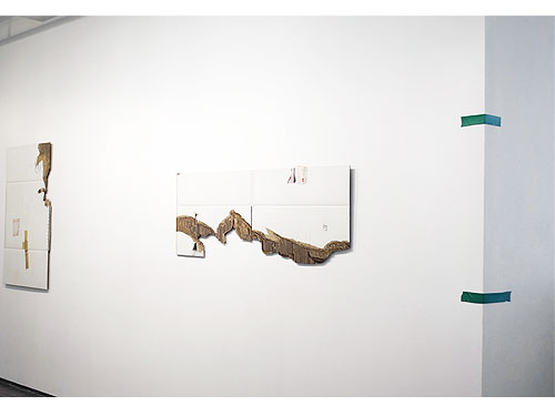 Inbox , 2011, Exhibition view, Josée Bienvenu Gallery