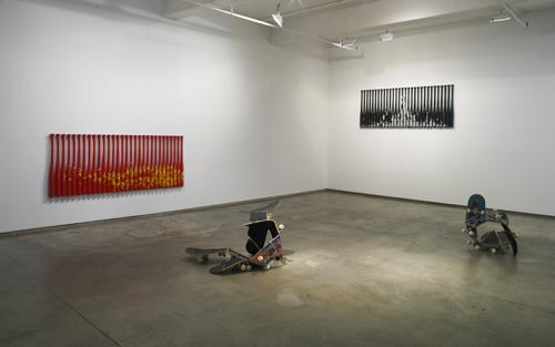 Play Offs , 2008, exhibition view, Josée Bienvenu Gallery, New York