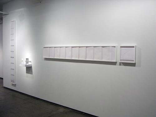 PARKING ANY TIME , 2010, exhibition view, Josée Bienvenu Gallery, New York