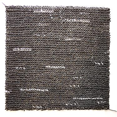  redacted (enhanced interrogation) , 2010, cut paper, 25 x 25 inches