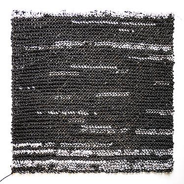  redacted (waterboard) , 2010, cut paper, 25 x 25 inches