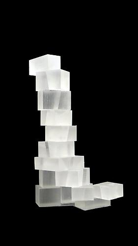 Lehi Utah Master Plan project model, 2006.  Acrylic.  12 x 5 x 9 inches.  Courtesy of the artist and Leslie Feely Fine Art, LLC. Photo credit: Gehry Partners.