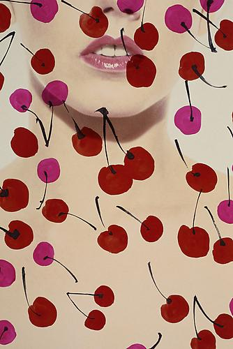 Jean Clemmer Métamorphose, (Les Cerises en délire), 1985/2010 C-Print mounted to Plexiglas and aluminum / Numbered and captioned with signature & stamp from the Estate of Jean Clemmer on verso From a limited edition of 10 / Image: 47 x 31.5 inches