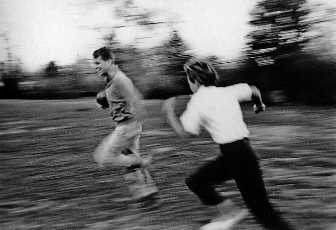 """The Football Game"" Robert F. Kennedy & Ethel Kennedy, Hickory Hill, McLean, Virginia March 1961 Gelatin Silver Print"
