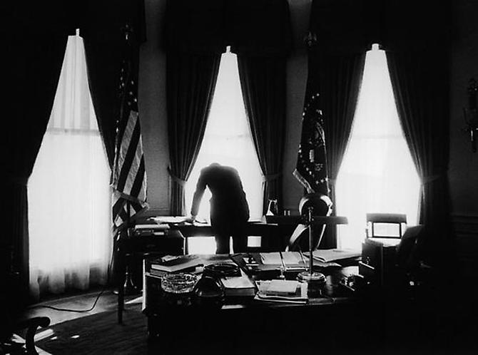 """The Oval Office"" Washington D.C, November, 1961 Gelatin Silver Print"