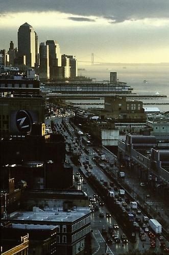 Lower Manhattan  2003 C-Print