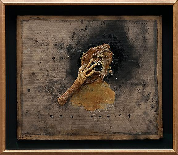 DAVID LYNCH  Man Eating , 2010 28 1/2 x 32 inches