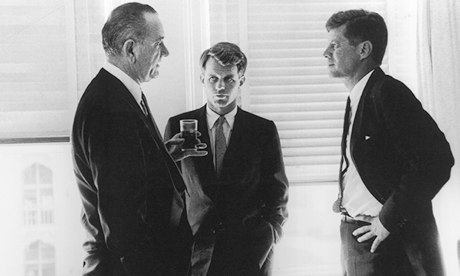 """Vice Presidential Nomination"" Lyndon B. Johnson, Robert F. Kennedy & John F. Kennedy The Biltmore Hotel, Los Angeles July, 1960 Gelatin Silver Print"