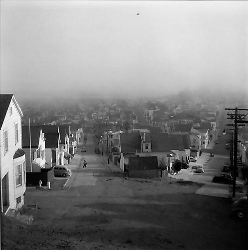 Afternoon Fog, San Francisco 1949 gelatin silver print