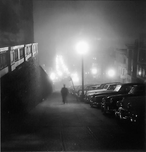 Foggy Night, San Francisco 1946 gelatin silver print