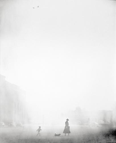 A Walk in the Fog 1949 gelatin silver print