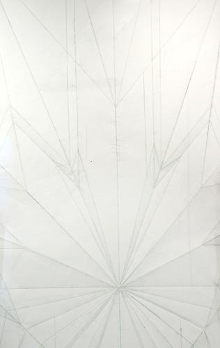 Massimo Bartolini Airplane 2007  106.3 x 74.8 inches 270 x 190 cm  colored pencil on paper