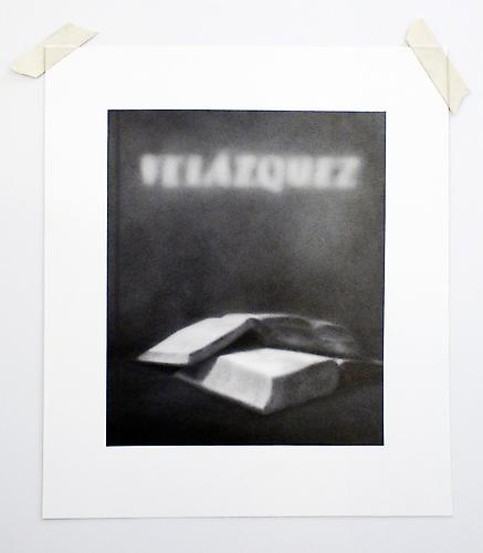 "Formalizing their concept: Waltercio Caldas' ""Velazquez"" , 2012, graphite on paper, 15.5 x 13 inches"