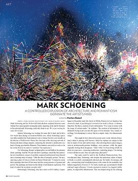 Mark Schoening featured in FLAUNT Magazine