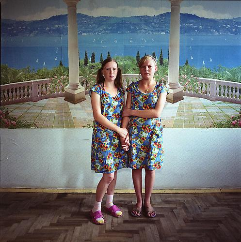 Michal Chelbin,  Masha, sentenced for violence; and Sveta, sentenced for theft. Juvenile prison for girls, Ukraine , 2009