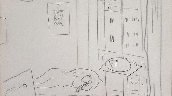 Drawings by Henri Matisse and Richard Diebenkorn