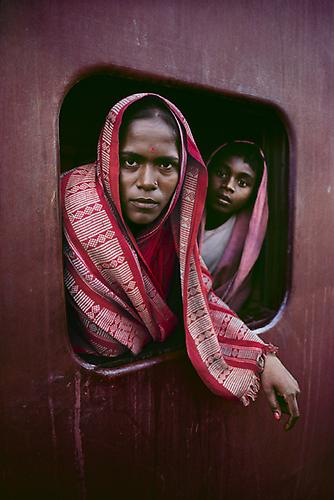 Women on Train Window 1982 C-type print on Fuji Crystal Archive paper
