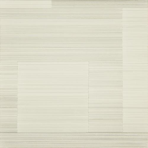 Meditation #25, 2012 Gold, silver, brass point on cream Plike paper 12 x 12 inches