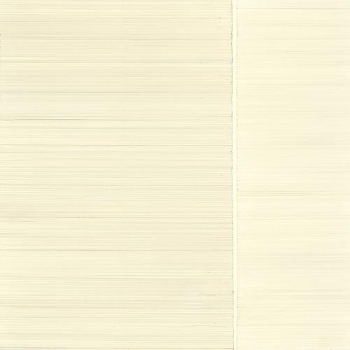 Meditation #9, 2013 Gold/silver/brasspoint on cream Plike paper 12 x 12 inches