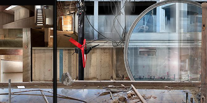 Ilit Azoulay,  Mirror Stage , 2012 Archival pigment print 56.5 x 113 inches - Edition of 5 39 x 79 inches - Edition of 5