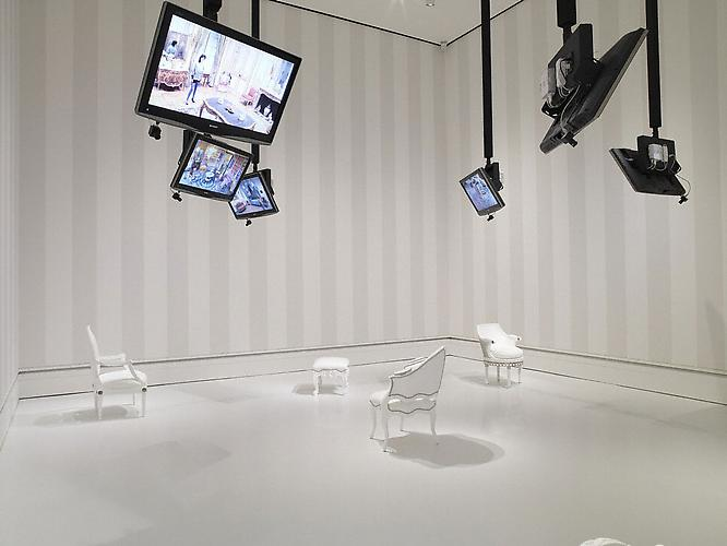 Nicole Cohen, Please Be Seated, (2007-09) A Commissioned Video Installation by The J. Paul Getty Museum, Los Angeles, CA