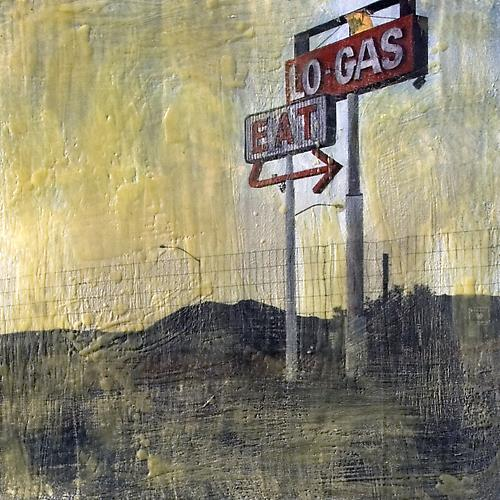 Nevada Road, 2008 Beeswax, ink, acrylic, and graphite 21 x 21 inches $1,000 plus $200 frame