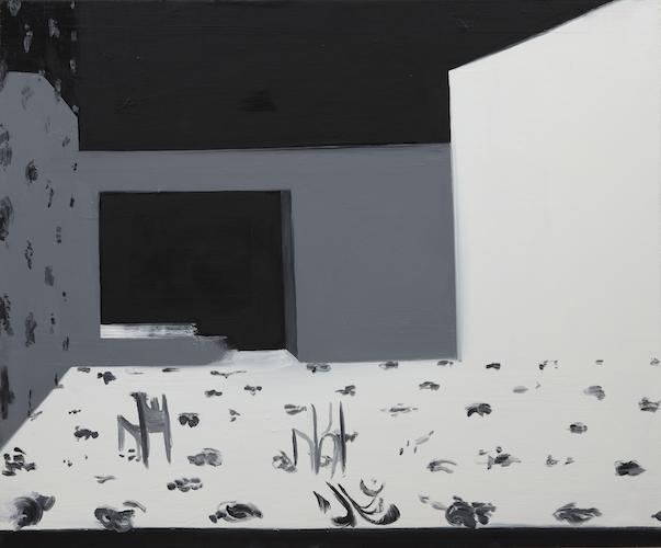 Interior 7 (Stage View) , 2010 Oil on canvas 30 x 36 inches