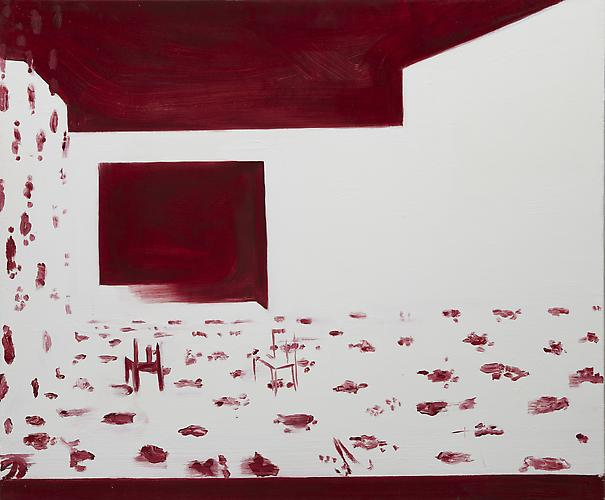 Interior 7 (Dazzle Dim) , 2010 Oil on canvas 30 x 36 inches